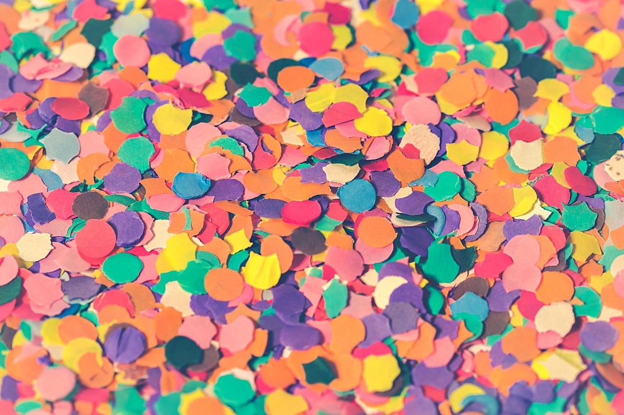 Imagem de confetes