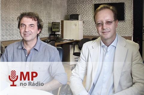 Eduardo Fenianos e Régis Sartori
