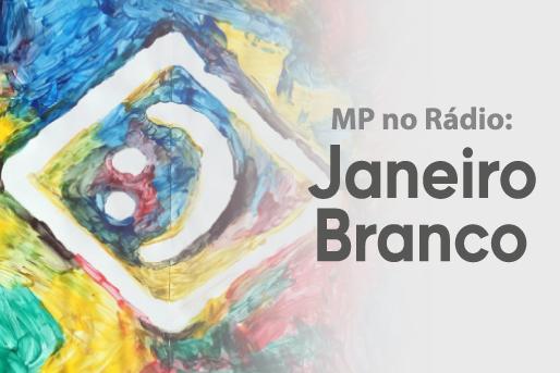 Logo campanha Janeiro Branco