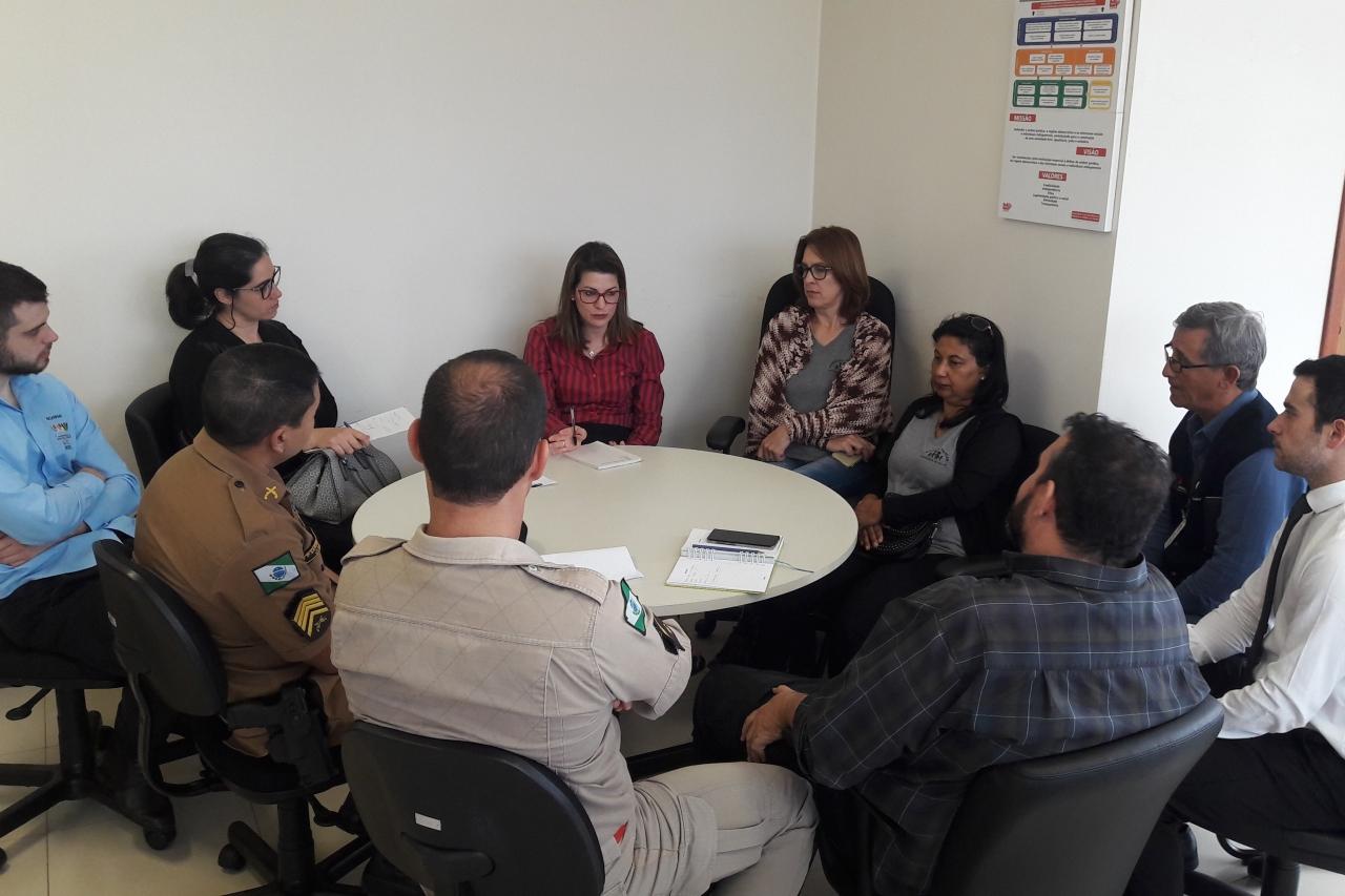 Reunião do Grupo de Trabalho em Laranjeiras do Sul